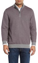 Cutter & Buck Men's Twin Falls Quarter Zip Sweater