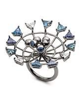 Eddie Borgo Apollo Crystal Statement Ring, Size 7