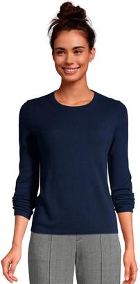 Lands' End Petite Cashmere Crewneck Sweater