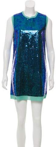 Marc by Marc Jacobs Silk Sequin Dress