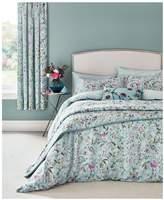 V&A Botanica 100% Cotton Duvet Cover Set – Aqua