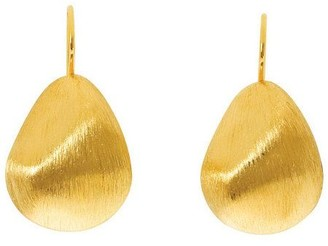 Arte D'oro Arte d'Oro Bold Pear Shaped Earrings, 18K Gold