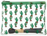 Forever 21 FOREVER 21+ Cactus Print Makeup Bag