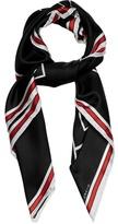 Givenchy Bambi©-print silk scarf