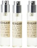 Le Labo Bergamote 22 Eau De Parfum Travel Tube Refill 3 X 10ml