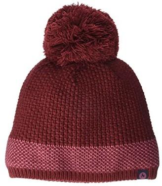 Marmot Charlene Hat (Black/Dark Steel) Beanies