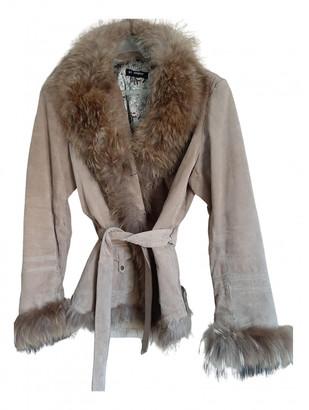 Oakwood Beige Leather Coats
