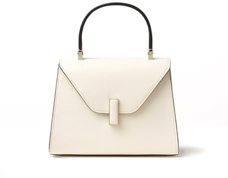 Valextra Iside Mini Bag in White