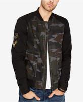 Buffalo David Bitton Men's Camo Patch Jacket