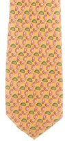 Burberry Silk Watermelon Print Tie