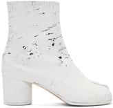 Maison Margiela White White-Out Tabi Boots