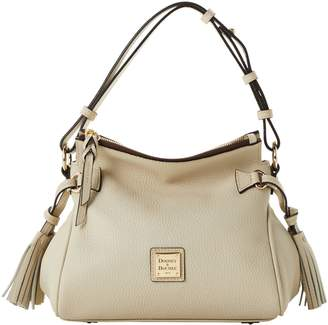 Dooney & Bourke Pebble Grain Tassel Shoulder Bag