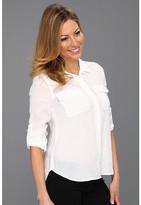 Calvin Klein Jeans Petite Petite Casual Button Front Shirt