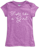 Urban Smalls Mauve 'Fight Like a Girl' Fitted Tee - Toddler & Girls