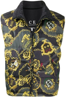 Versace Jeans Couture Reversible Down Gilet
