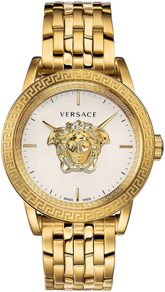 Versace Palazzo Empire Watch in Yellow Gold | FWRD