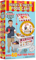 Melissa & Doug Kids' Snacks & Sweets Food Cart