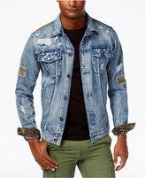 American Rag Men's Rip & Repair Denim Jacket, Created for Macy's