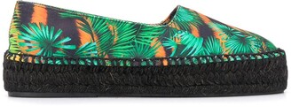 Versace Jeans Couture Jungle Print Espadrilles