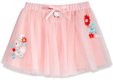 Hello Kitty Embroidered Mesh Skirt, Toddler & Little Girls (2T-6X)