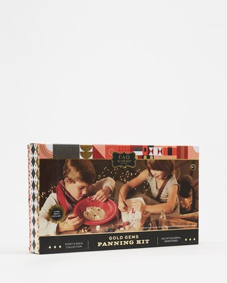 FAO Schwarz Grey Nature & Animals - Gems and Gold Panning Excavation Kit - Size One Size at The Iconic
