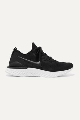 Nike Epic React 2 Flyknit Sneakers - Black