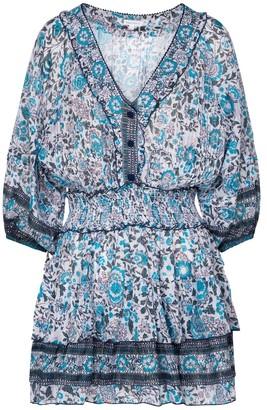 Poupette St Barth Exclusive to Mytheresa Ariel floral minidress