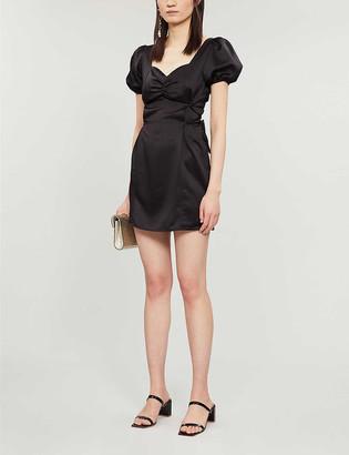 Topshop Prairie satin mini dress