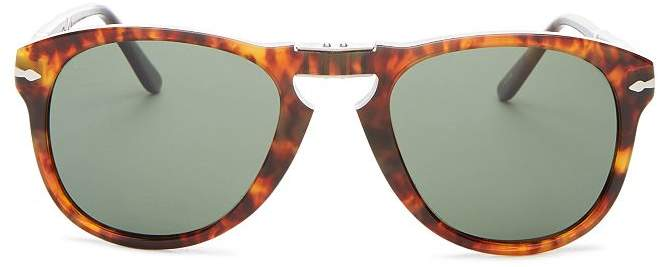 dccbfb6f57b0 Persol Polarized Round Sunglasses - ShopStyle