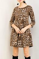 Entro Leopard Print Dress