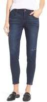Petite Women's Wit & Wisdom Twisted Seam Ankle Skimmer Jeans