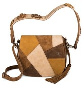 Mac & Jac Mac + Jac® Color Block Cross-body Bag - Neutral