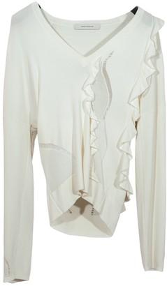 Cédric Charlier Ecru Knitwear for Women