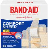 Bed Bath & Beyond Band-Aid® 80-Count Assorted Sheer Bandages