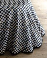 Mackenzie Childs MacKenzie-Childs Courtly Check Round Table Skirt