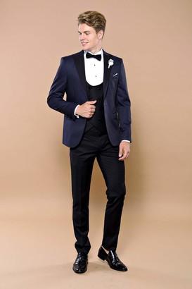Wessi Men's Kombinierte Smokingjacke Mit Slimfit-Muster Tuxedo