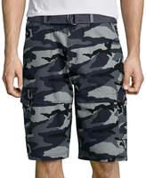 Ecko Unlimited Unltd. Beveler Camo Cotton Cargo Shorts