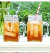 Cathy's Concepts 'For The Couple' Mason Jar Glasses With Handles