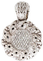 John Hardy Pavé Diamond Pendant Enhancer