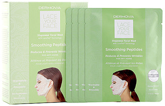 Dermovia Smoothing Peptides Lace Your Face Mask 4 Pack