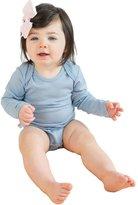 Woolino Unisex Baby Bodysuit, 100% Merino Wool Bodysuit, Long Sleeve, Tagless Neck
