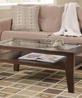 Signature Design by Ashley Dark Brown Deagan Rectangular Coffee Table