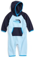 The North Face Infant Boy's Hooded Logo Romper
