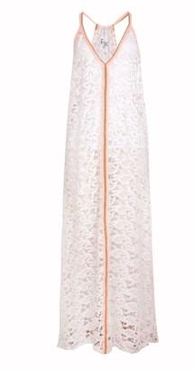 Pitusa Crochet Sundress White - O/s