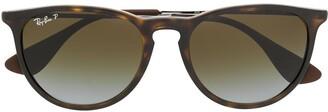 Ray-Ban Tortoiseshell Round Sunglasses