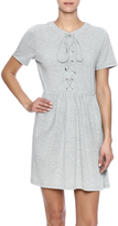 Babel Fair Jersey Lace Up Dress