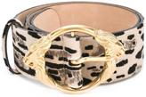 Roberto Cavalli animal print belt
