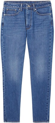 Burberry Straight-Leg Mid-Rise Jeans