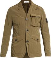Stone Island David Tela lightweight technical blazer