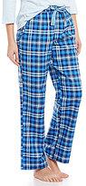 Sleep Sense Plaid Flannel Sleep Pants